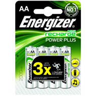Akumulator Energizer Power Plus AA/4 szt. 2000mAh | 7638900249101