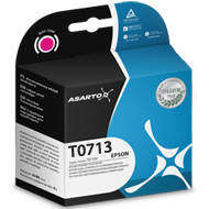 Tusz Asarto do Epson T0713 | D78/92/120/DX4000/4400 I magenta | AS-E713M