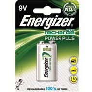 Akumulator Energizer Power Plus 9V/1 szt. 175mAh | 7638900138771