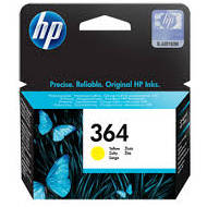 Tusz HP 364 Vivera do Photosmart 5510/5515/7510, C5380/6380 | 300 str. | yellow | CB320EE#BA3