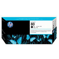 Tusz HP 80 do Designjet 1050/1055 | 350ml | black | C4871A