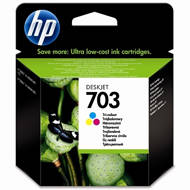 Tusz HP 703 do Deskjet Ink Advantage F730/735 | 250 str. | CMY | CD888AE#445