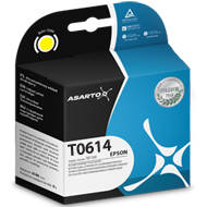 Tusz Asarto do Epson T0614 | D68/88/DX3800/4200 I yellow | AS-E6144Y