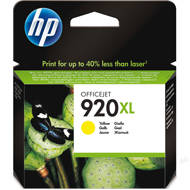 Tusz HP 920XL do Officejet 6000/6500/7000/7500 | 700 str. | yellow | CD974AE#BGY