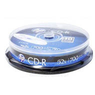 HP CD-R | 700MB | x52 | cake 10 | HPCD10