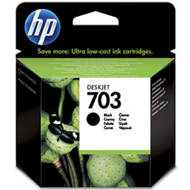 Tusz HP 703 do Deskjet Ink Advantage F730/735 | 600 str. | black | CD887AE#445