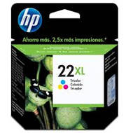 Tusz HP 22XL do Deskjet 3940/D2360/D2460/F380 | 415 str. | CMY | C9352CE#UUQ