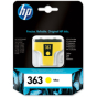 Tusz HP 363 Vivera do Photosmart 3210/3310/8250 | 400 str. | yellow | C8773EE#BA3