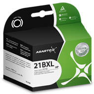 Tusz Asarto do HP 21XL | 21 ml | DeskJet3940/3920/PSC1410 | black | AS-H21XL